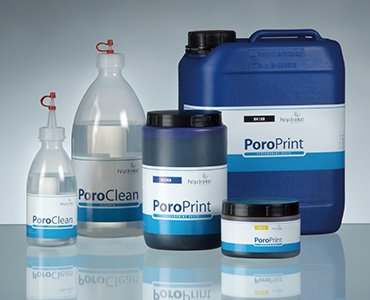 PoroPrint - screen printing paste