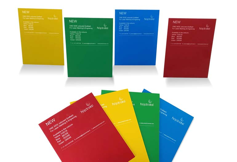 Graflash sheets in 4 new colours!